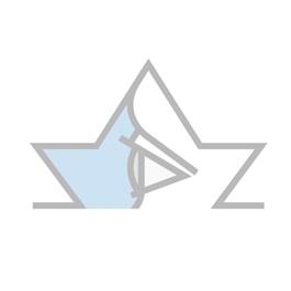 OCULUS Sehprobentafel, Buchstaben, in Plastik eingeschweißt, V = 0,125 - 1,0