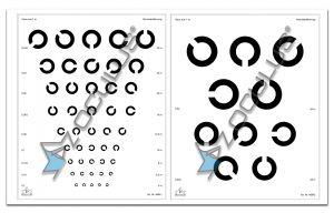 Set Sehprobentafeln 46940 bestehend aus Einzeltafeln 46941 und 46942