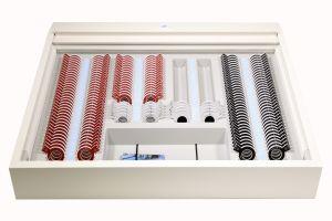 Brillenbestimmungskasten (Refraktionskasten) BK 1/T, Tischversion, ohne Pluszylinder, vergütet