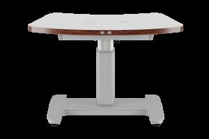 Zweigeräte-Hubtisch mit Delta-Tischplatte
