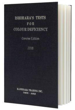 Ishihara Farbtafeln, 14 verschiedene Tafeln, Buchformat