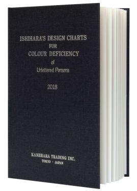 Ishihara Farbtafeln für Analphabeten und Kinder im Buchformat