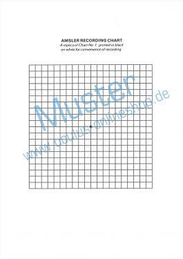 Amsler-Auswerteformulare, 50 Blatt