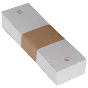 Kinnstützpapier für AR, ARK, SL, NT, Keratograph; 400 Stück