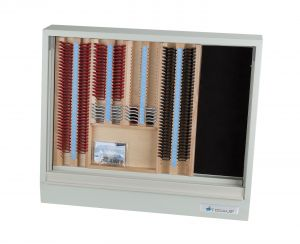 Brillenbestimmungskasten BK S1/W als Wandversion, ohne Pluszylinder, vergütet