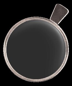 Dunkelrotglas, ø 38 mm
