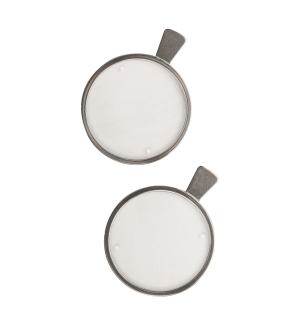 Lichtschweifgläser (Bagolini, 1 Paar), ø 38 mm