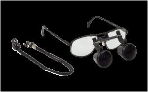 Lupenbrille 1,8x/370 mm mit Nahteildistanzstück