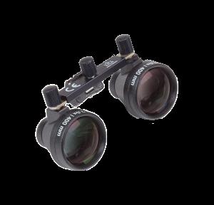 Lupenvorsatz 2,5x/400 ohne Brillenfassung
