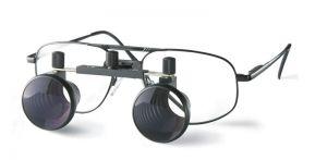 Lupenbrille 1,8x/370, große Metallfassung