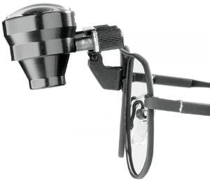 Lupenbrille 2,5x/400, große Metallfassung