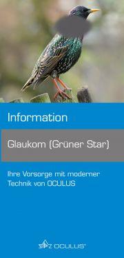 "Faltbroschüre ""Grüner Star"""