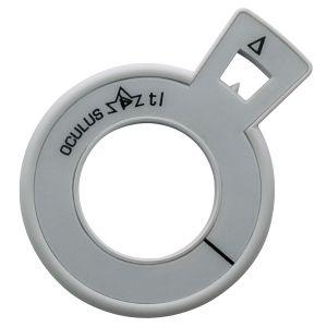 Refraktionsglas tl (38 mm) prismatisch Basis 0° VERGÜTET