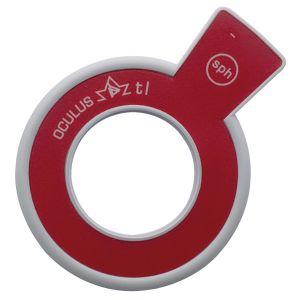 Refraktionsglas tl (38 mm) sphärisch konkav (-) VERGÜTET