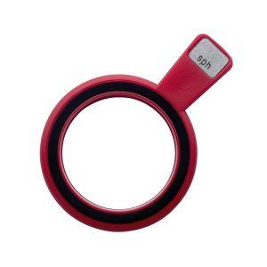 Refraktionsglas tls (28 mm) sphärisch konkav (-)