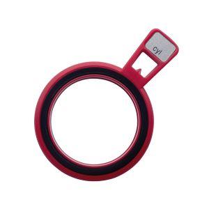 Refraktionsglas tls (28 mm) zylindrisch Achse 90° konkav VERGÜTET