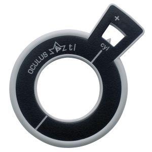Refraktionsglas tl (38 mm) zylindrisch Achse 90° konvex