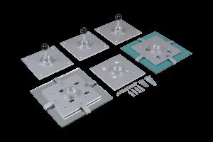 Umlenkspiegelsatz: optionales Spiegelsystem für das Refraktionieren in kleinen Räumen